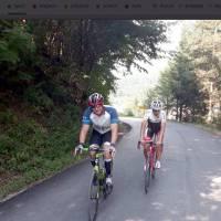 Bosanskohercegovački biciklist Jasmin Grebić svoj najveći pothvat izveo na cesti Kreševo - Blinje
