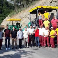 Završeno asfaltiranje još jedne dionice prometnice Kreševo - Kiseljak