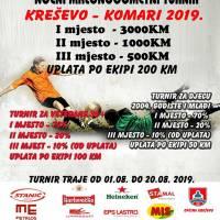 Počinje turnir u Komarima