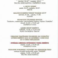 Svečano obilježavanje Dana općine Kreševo