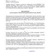 """Javna rasprava: Nacrt Zoning plana poslovne zone """"Resnik"""""""