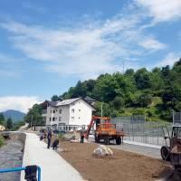 Uređuje se šetnica uz Kreševčicu na ulazu u Kreševo