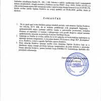 Zaključci Stožera Civilne zaštite Općine Kreševo - 9.VI.