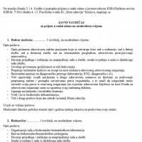 Dom zdravlja Kreševo - Javni natječaj za prijem u radni odnos